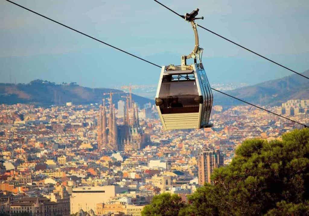 Barcelona Cable Car Land Sea 1 1 1024x717