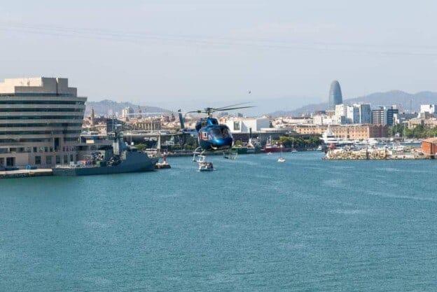 Barcelona Hubschrauber Tour 2