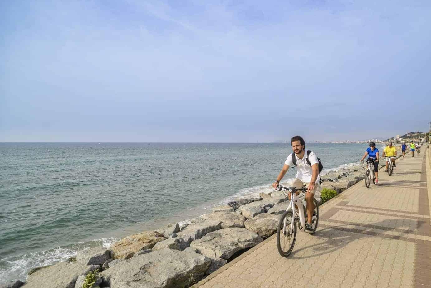 Ebike, Beach, Wine 3