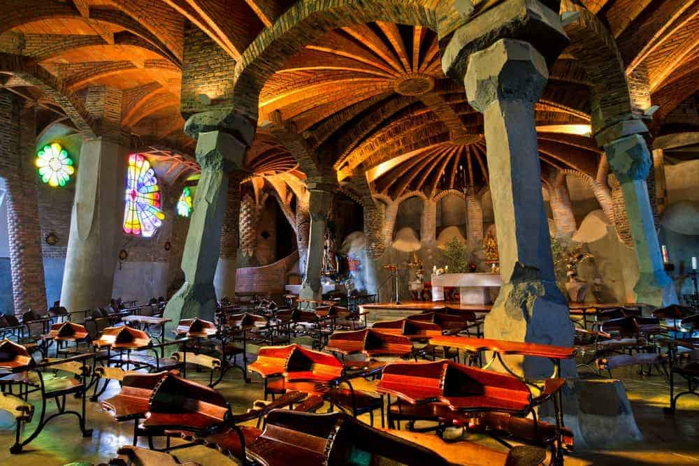 Montserrat Colonia Guell Tour 4 1 1