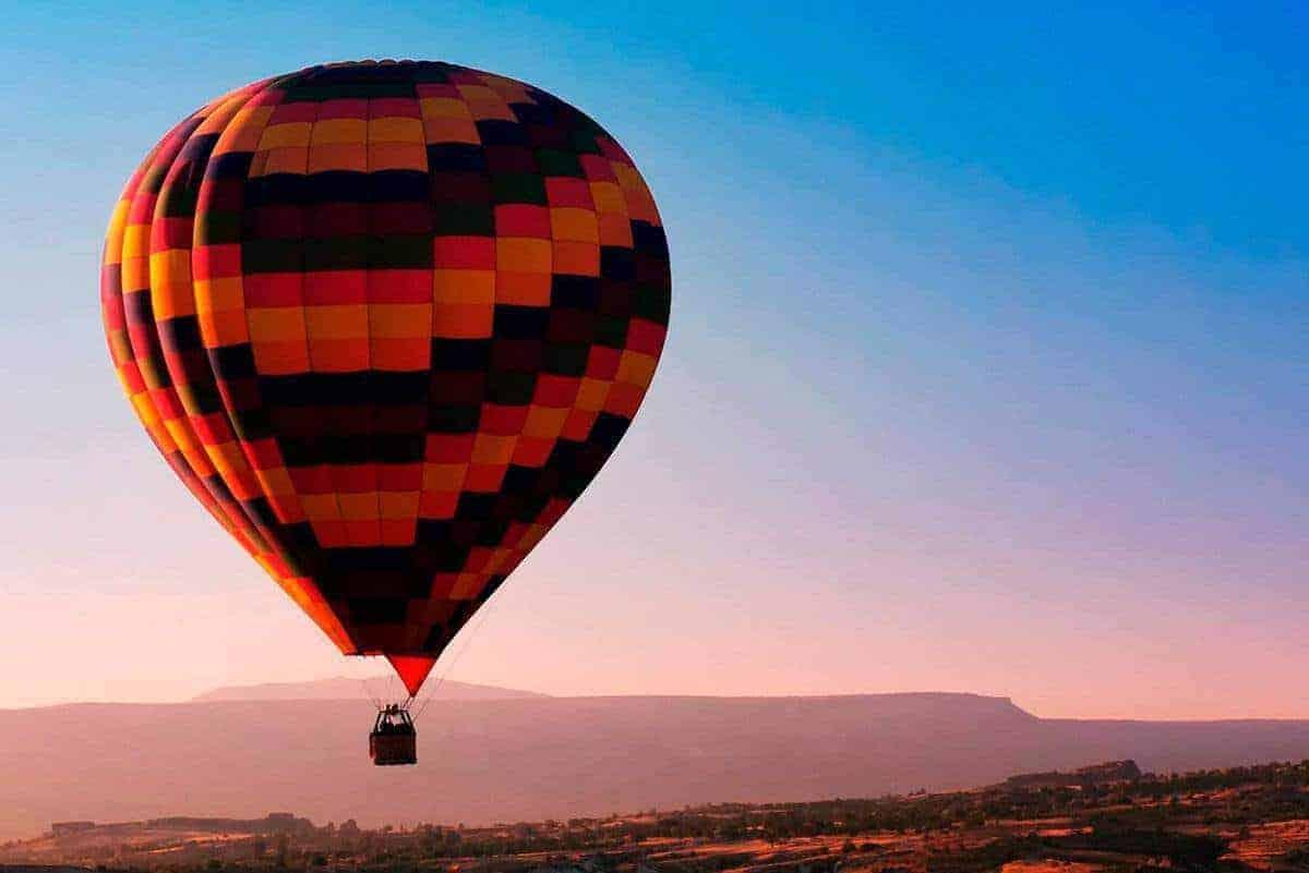 Montserrat Hot Air Ballon 1