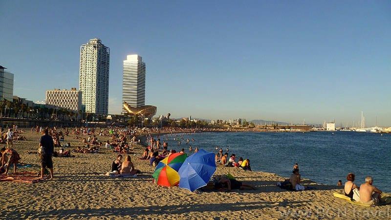 Barceloneta Beach Puerto Olimpico 800px