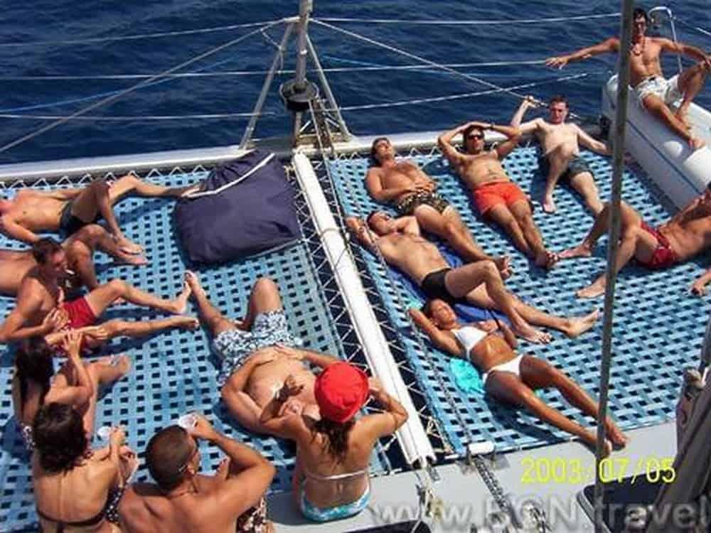 Catamaran Sailing 8res