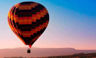 Montserrat Hot Air Ballon 1