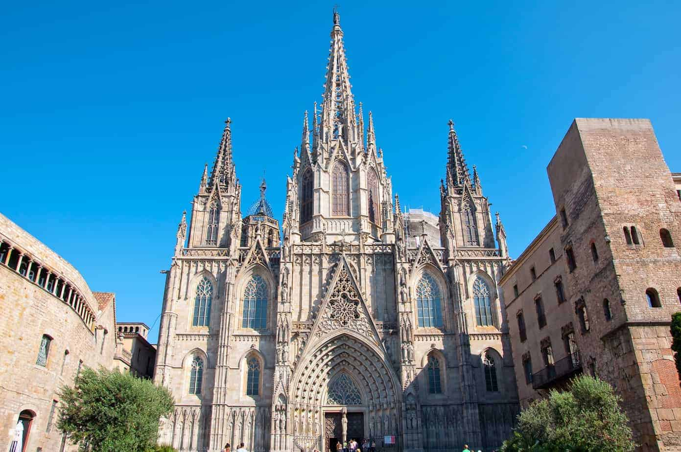 Barcelona Cathedral, Saint Eulalia.