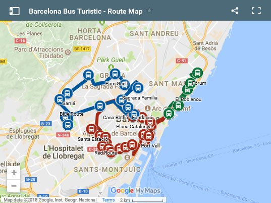 Barcelona Tourist Map Pdf