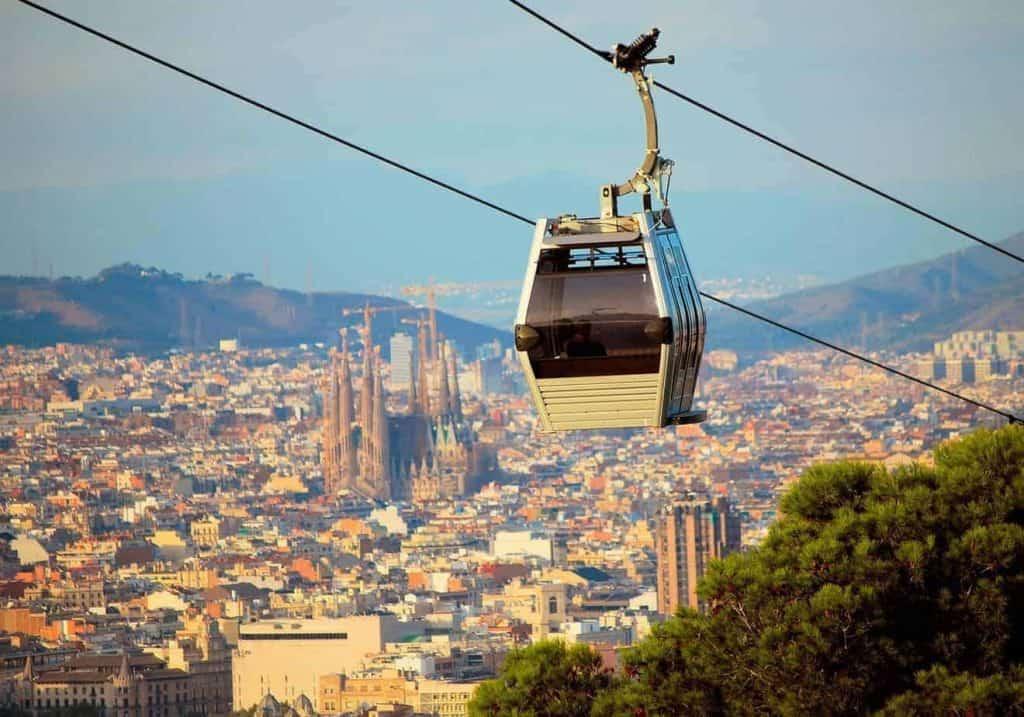 Barcelona Cable Car Land Sea 1 1