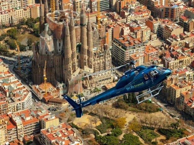 Barcelona Hubschrauber Tour