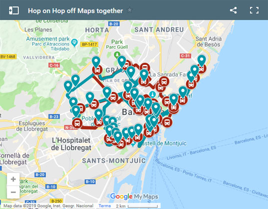 Barcelona Hop On Hop Off Buses 2020 The Ultimate Guide Bcn Travel
