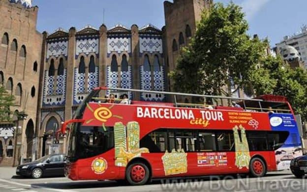 Barcelona Red Bus - City Tour (10% Discount!) 27€ | BCN travel