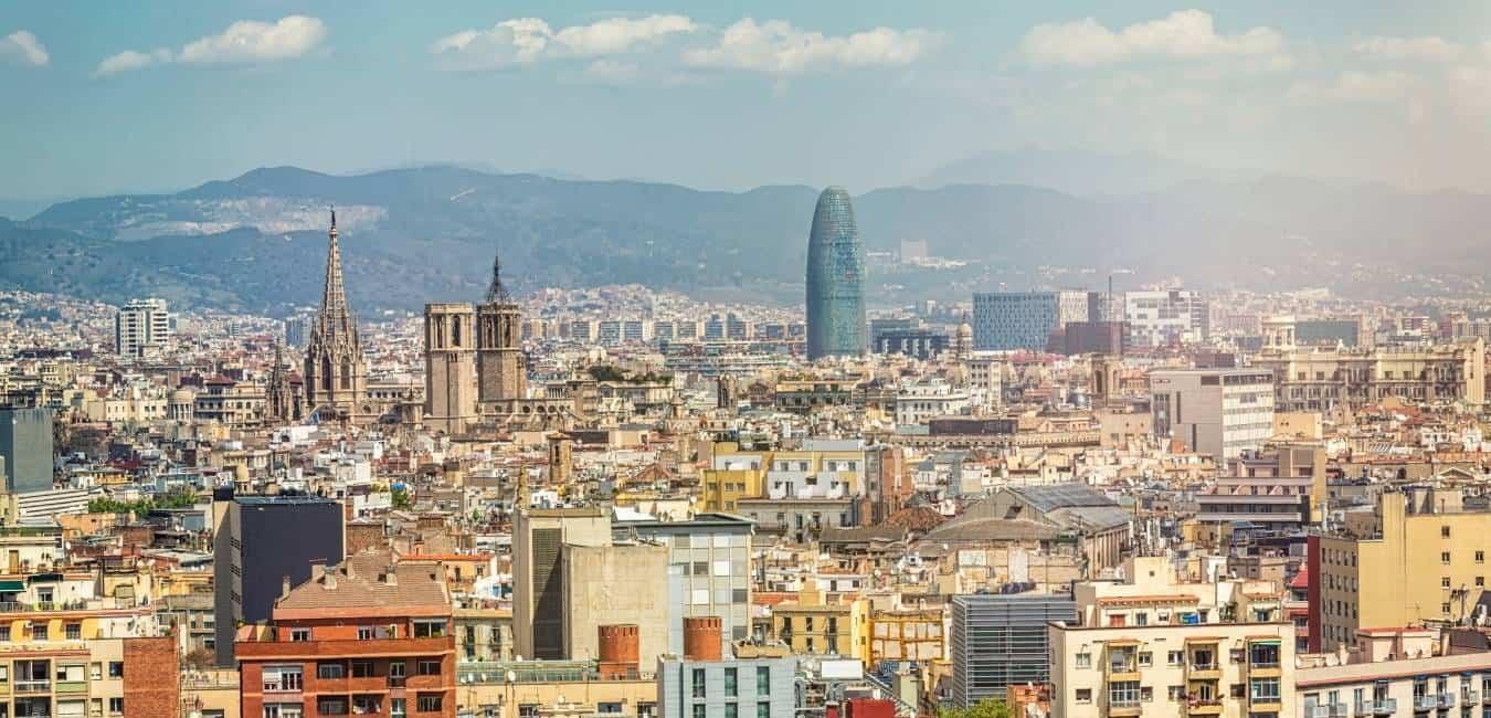 Sunny Barcelona In July