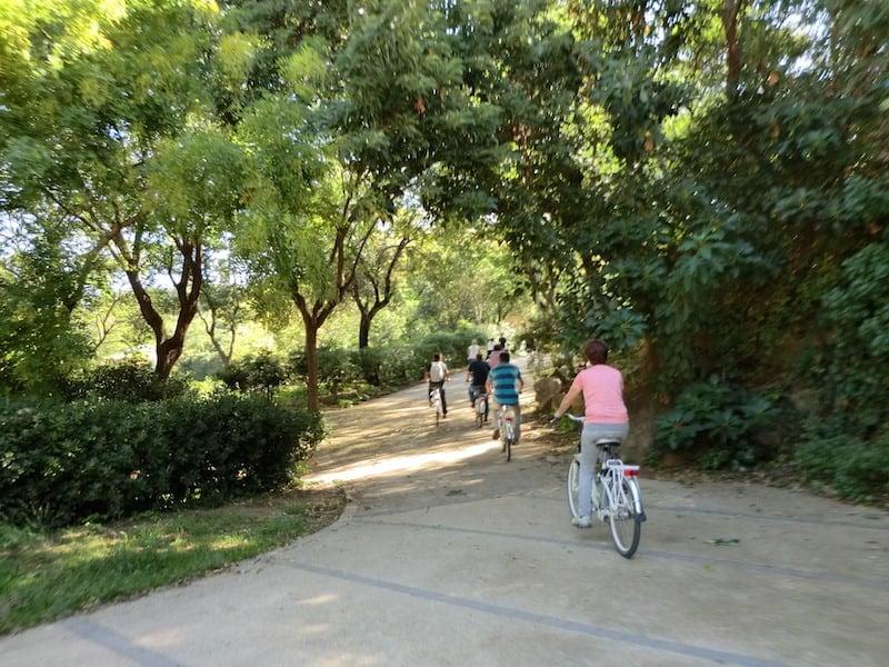Andar en bicicleta en Barcelona 2