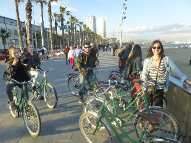 Biking In Barcelona 3