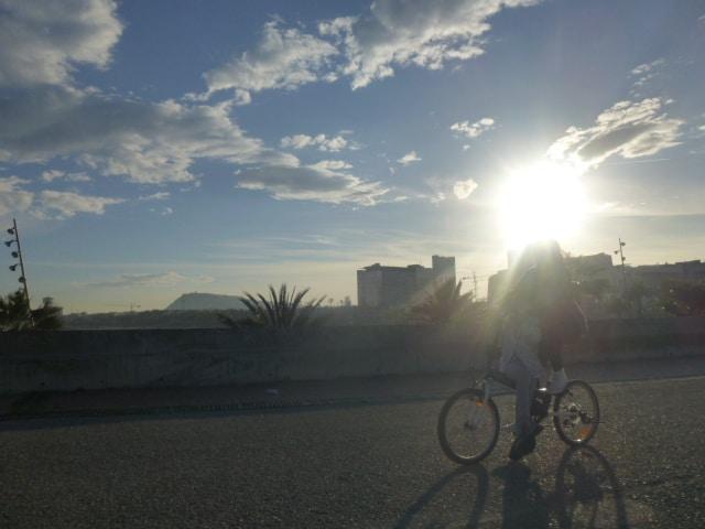 Andar en bicicleta en Barcelona 4