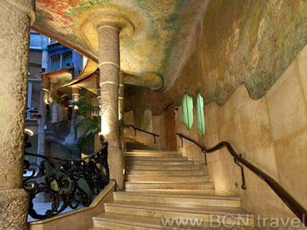 Casa Mila Staircase