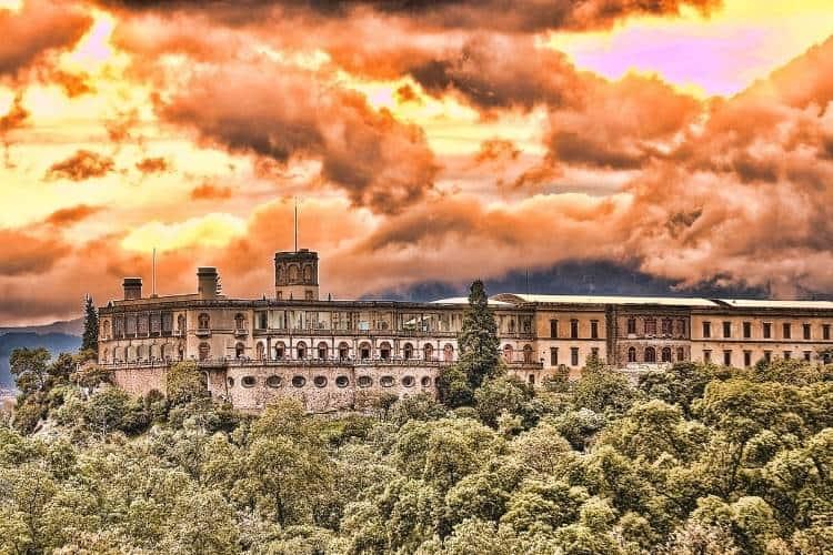 Barcelona in July - Castillo De Montjuic Sunset