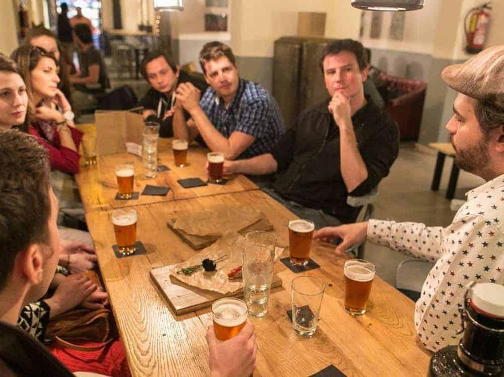 Tour de degustación de cerveza artesanal 2res 1