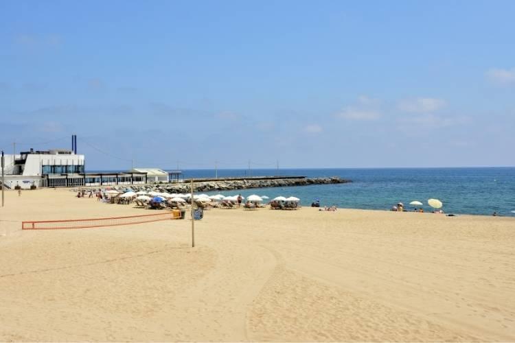 Barcelona in July - Mar Bella Beach