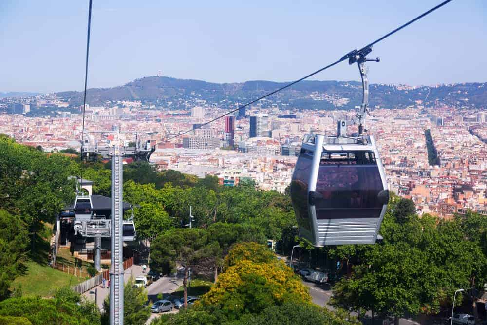 Montjuic Cable Car 1 1