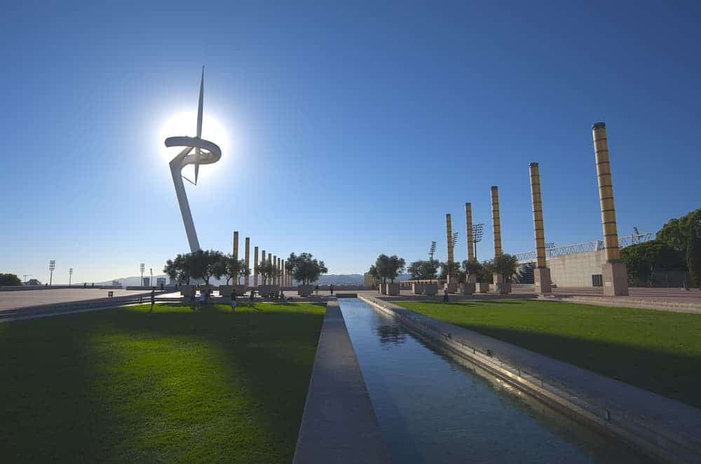 Olympic Barcelona & Camp Nou Private Ebike Tour 1