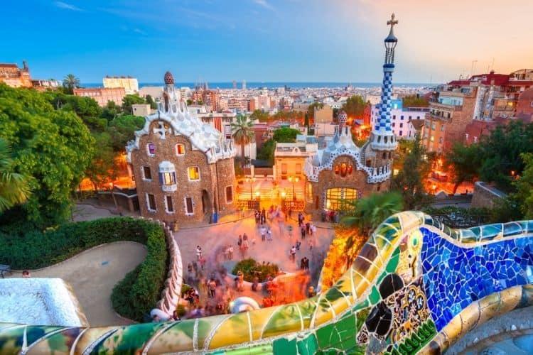 Park Guell Barcelona Bus City Tour