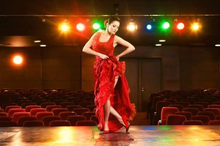 Passion Of A Flamenco Show