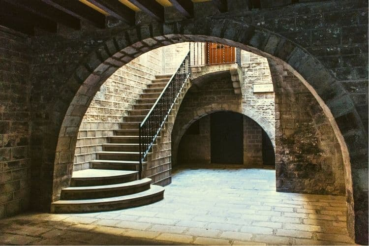 Picasso Museum Stairs