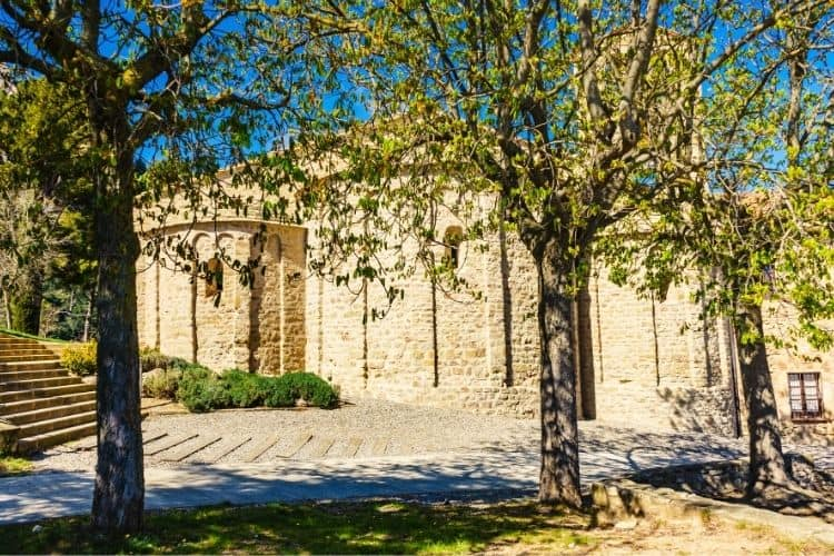 Santa Cecilias Monastery Montserrat