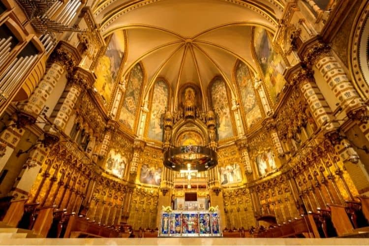 The Basilica Of Montserrat