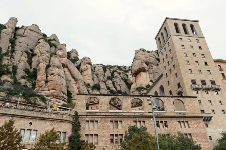 The Benedictine Abbey and the Basilic Montserrat Spain