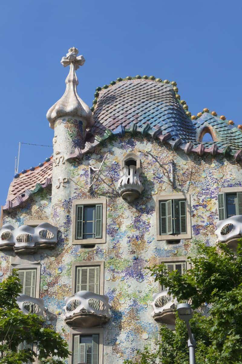 The Facade Of Casa Batllo