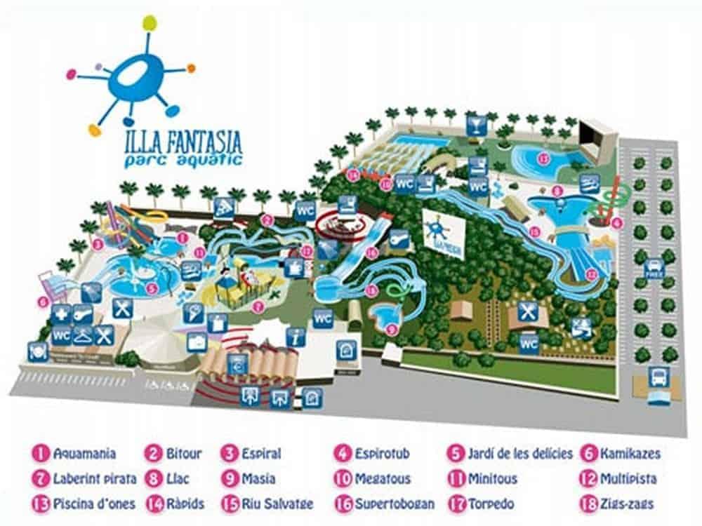 Parc aquatique Isla Fantasia 8res 1