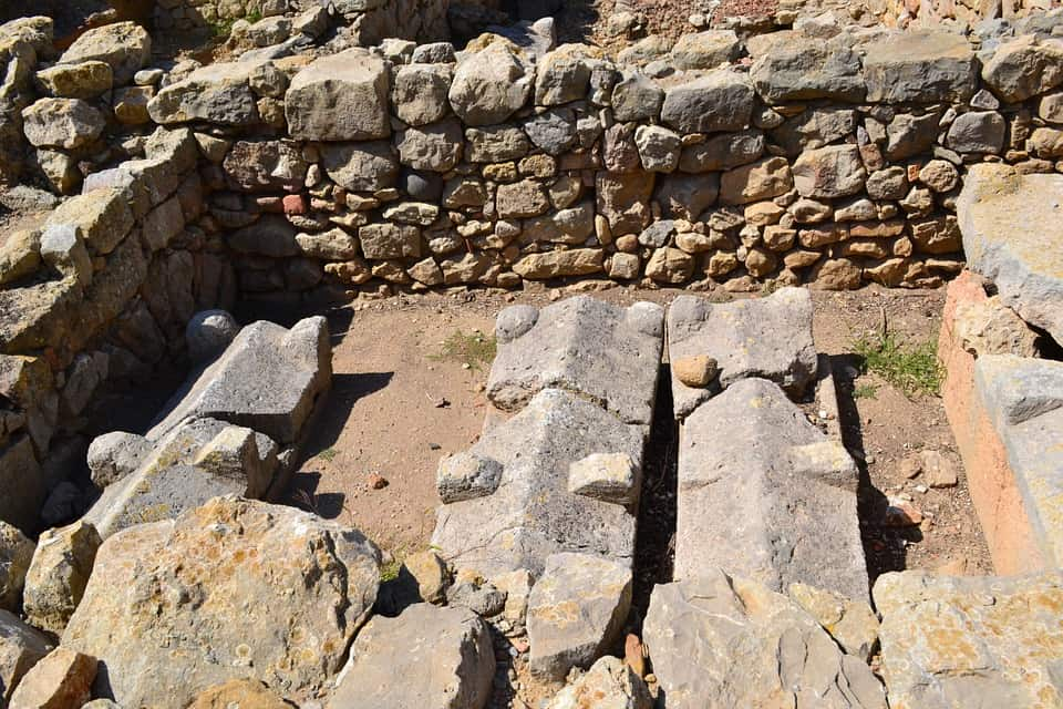Ancient Ruins Of Enpuries