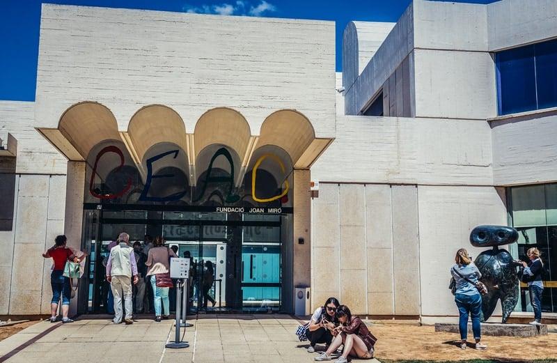 Art Museum Of Joan Miro At The Hill Of Montjuïc