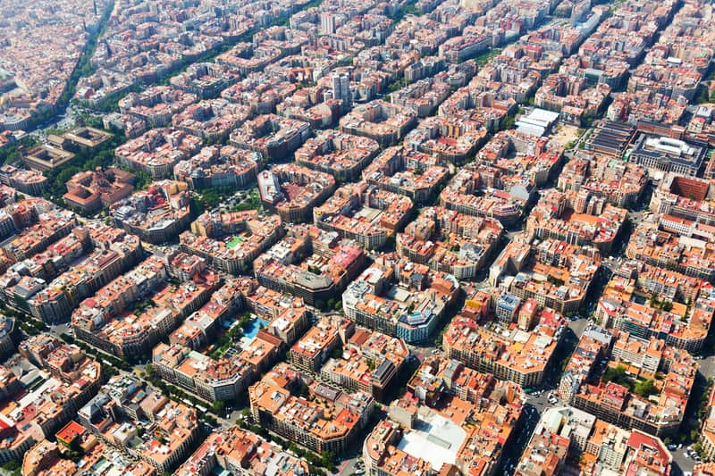 Barcelona City Is An Architectural Marvel