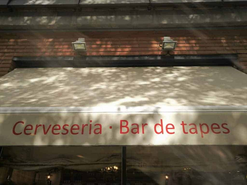 Stop for some Tapas