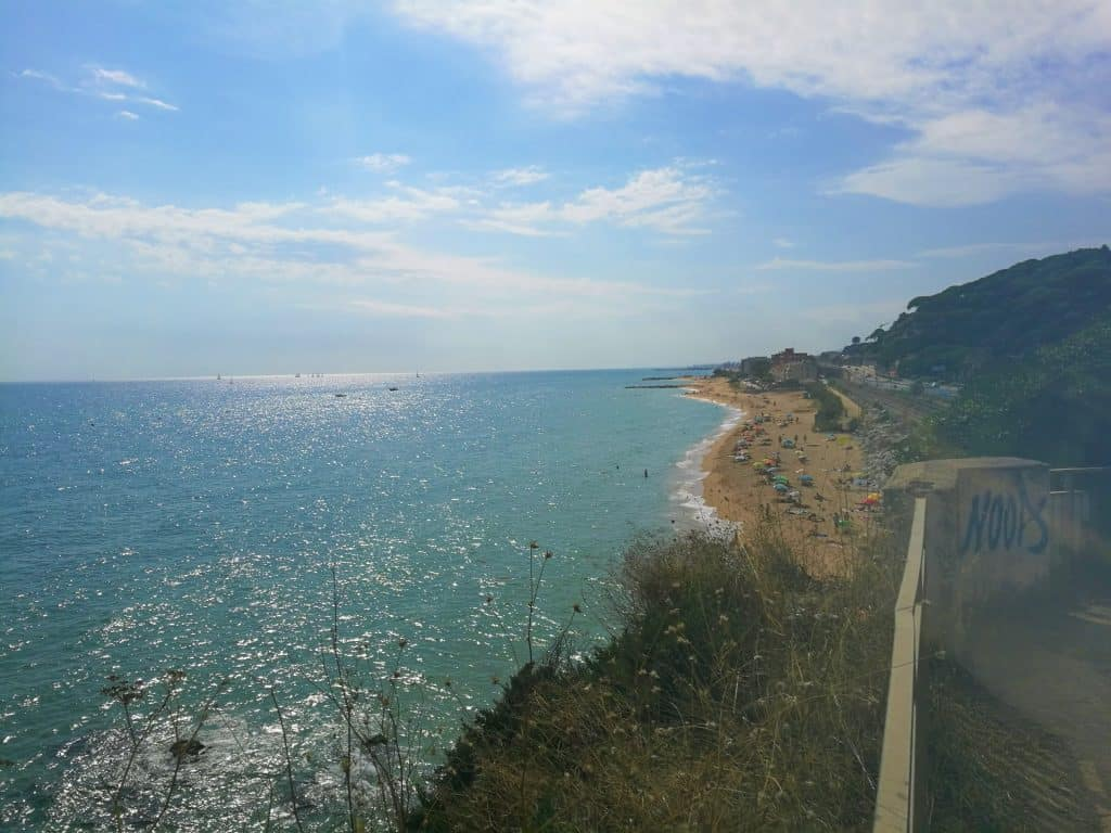 Splendid views at Sant Pol