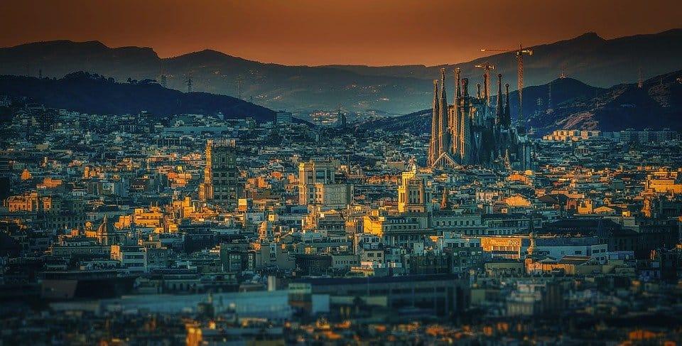 Hermosa barcelona