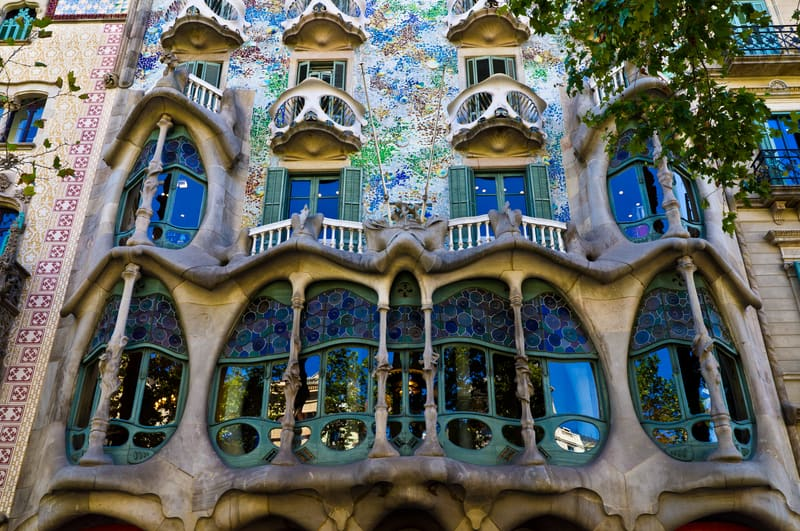 Casa Battlo Facade Of Main Floor