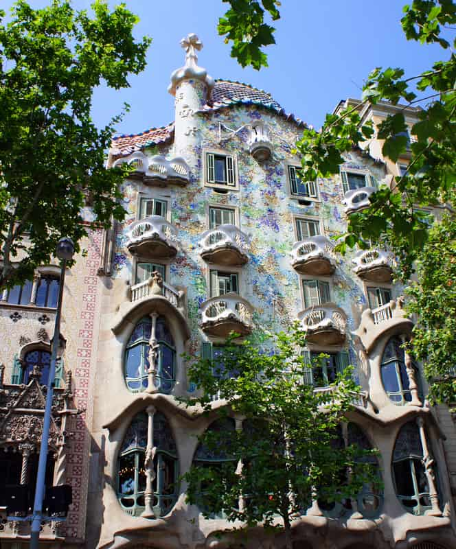"Casa Battlo Known As The ""House of Bones"" In Barcelona"