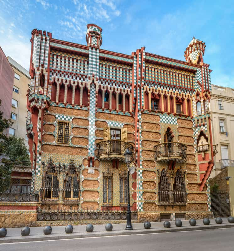 Casa Vicens One Of The First Work Of Gaudi