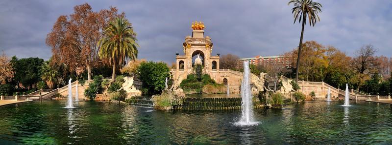 Fuente Cascada en Parc De La Ciutadella