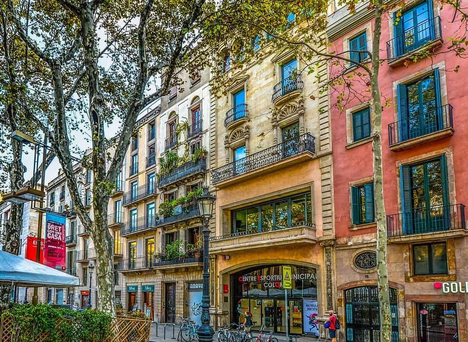 Barcelona colorida