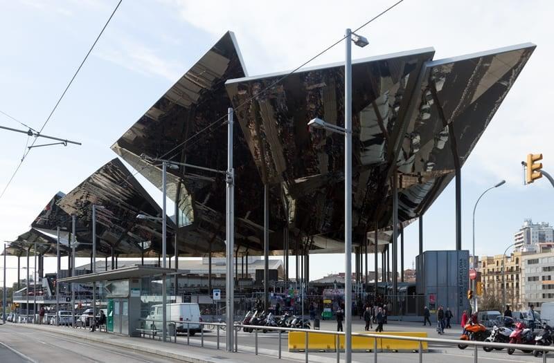 New Building Of Encants Vells Market