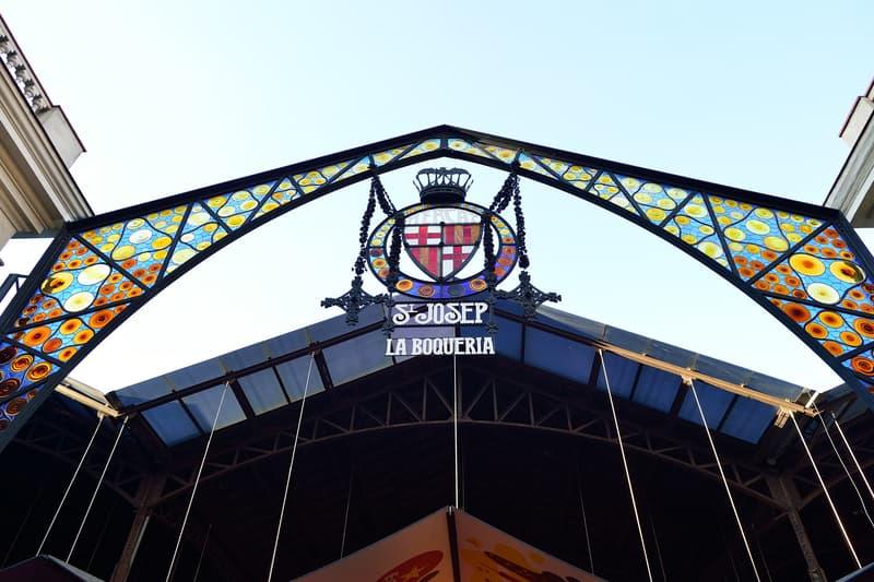 The Mercat De Sant Josep De La Boqueria