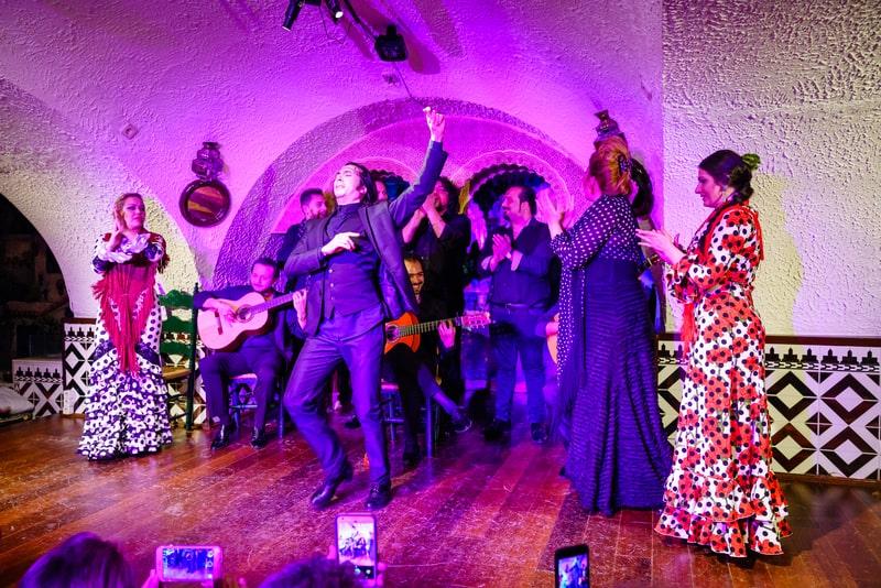 Flamenco Show In Tablao Flamenco Cordobes