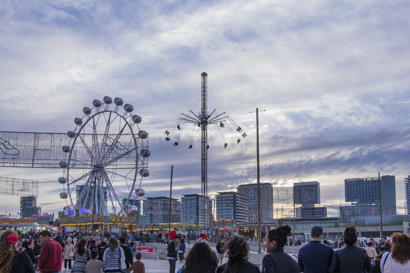 Fun Rides And Attractions During Feria De Abril