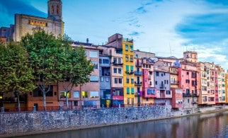 Girona From The River