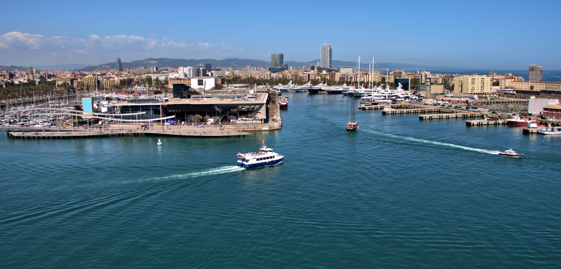 Harbour Cruise In Port Vell