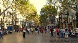 La Rambla-Barcelona